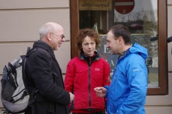 Ernst Vogt vom bayerischem Rundfunk/Rucksackradio - im Gespräch mit Annette Kniffler und Christian Rottenegger