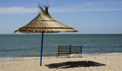Strand in Berdians'k