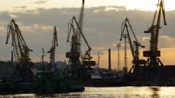 Abendstimmung im Hafen von Odessa