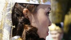 Sommerfest der Tataren um Astrachan