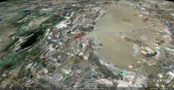 Strecke der Ultratour von Almaty bis Yecheng