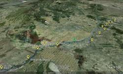Ultratour Strecke von Wien nach Budapest