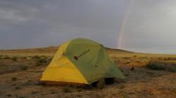 Gewitter 250 km hinter Atyrau