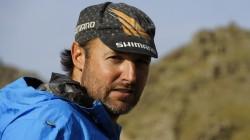 Christian am 1100 Meter hohen Pass zwischen Bishkek und Almaty