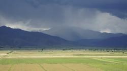 Gewitter im Tian Shan östlich von Bishkek
