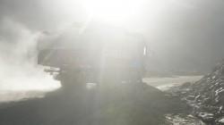 Staub in der Luft - die ersten Tage am Xinjiang-Tibet-Highway