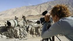 Vor der Kamera: Tibetische Straßenarbeiter am Xinjiang-Tibet-Highway
