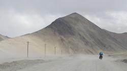 Auffahrt zum Khitai-Pass (5300 Meter)