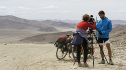 Interview auf 5300 m - Khitai-Pass