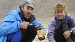 Hungerstrecke durch Tibet: pures Milchpulver zum Frühstück