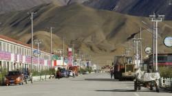 """Rutok, eine der wenigen """"Städte"""" in Tibet"""