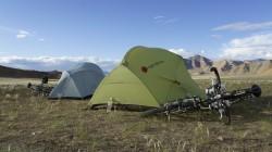 Zelten in der Abgeschiedenheit Tibets
