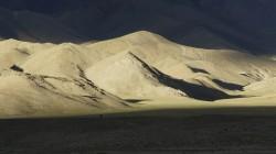 Atemberaubende Lichtstimmung in der klaren Luft auf 4500 m Höhe